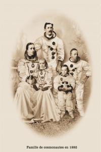 Famille de cosmonautes