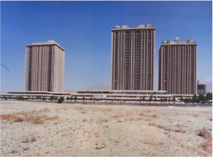 Jean Dubuisson, ensemble Vanack, Téhéran, Iran, 1970‐1976 / SIAF/CAPA, Centre d'archives d'architecture du XXe siècle