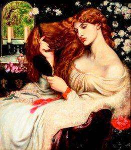 Dante-Gabriel-Rossetti-Lilith-1866-1868-Delaware-Art-Museum