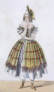 Mme Potier dans le rôle de Jenny (La Dame blanche) Paris, Martinet, 1841 BNF, BMO C-261 (15-1478)
