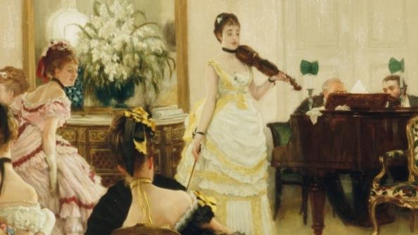 Marcel Proust au concert dans les salons parisiens