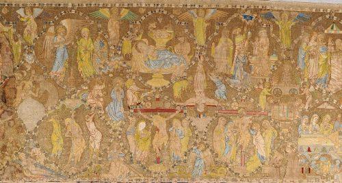 Exposition : Le parement d'autel de Toulouse : anatomie d'un chef-d'œuvre du XIVe siècle © Tous droits réservés.