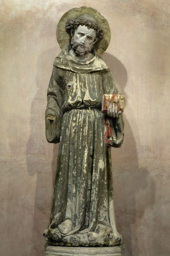 Saint François d'Assise - Maître de Rieux — Photothèque Musée des Augustins, Toulouse, photo : Daniel Martin