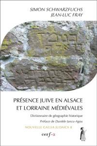 Couverture Présence juive en Alsace