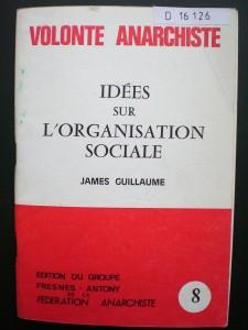 Idées sur l'organisation sociale 1979