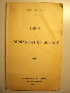 Idées sur l'organisation sociale-collège du travail