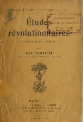 études révolutionnaires1