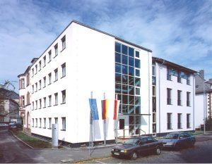 Außenansicht Archivschule Marburg. © Staatshochbauamt Marburg 2000