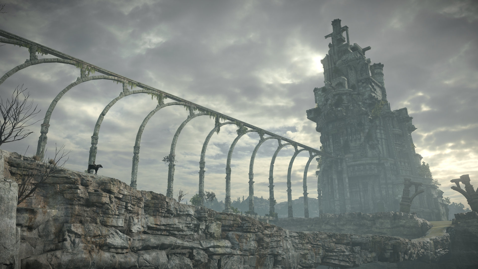 Screenshot vom 2018 erscheinenden Remake von Shadow of the Colossus (Quelle: playstation.com)