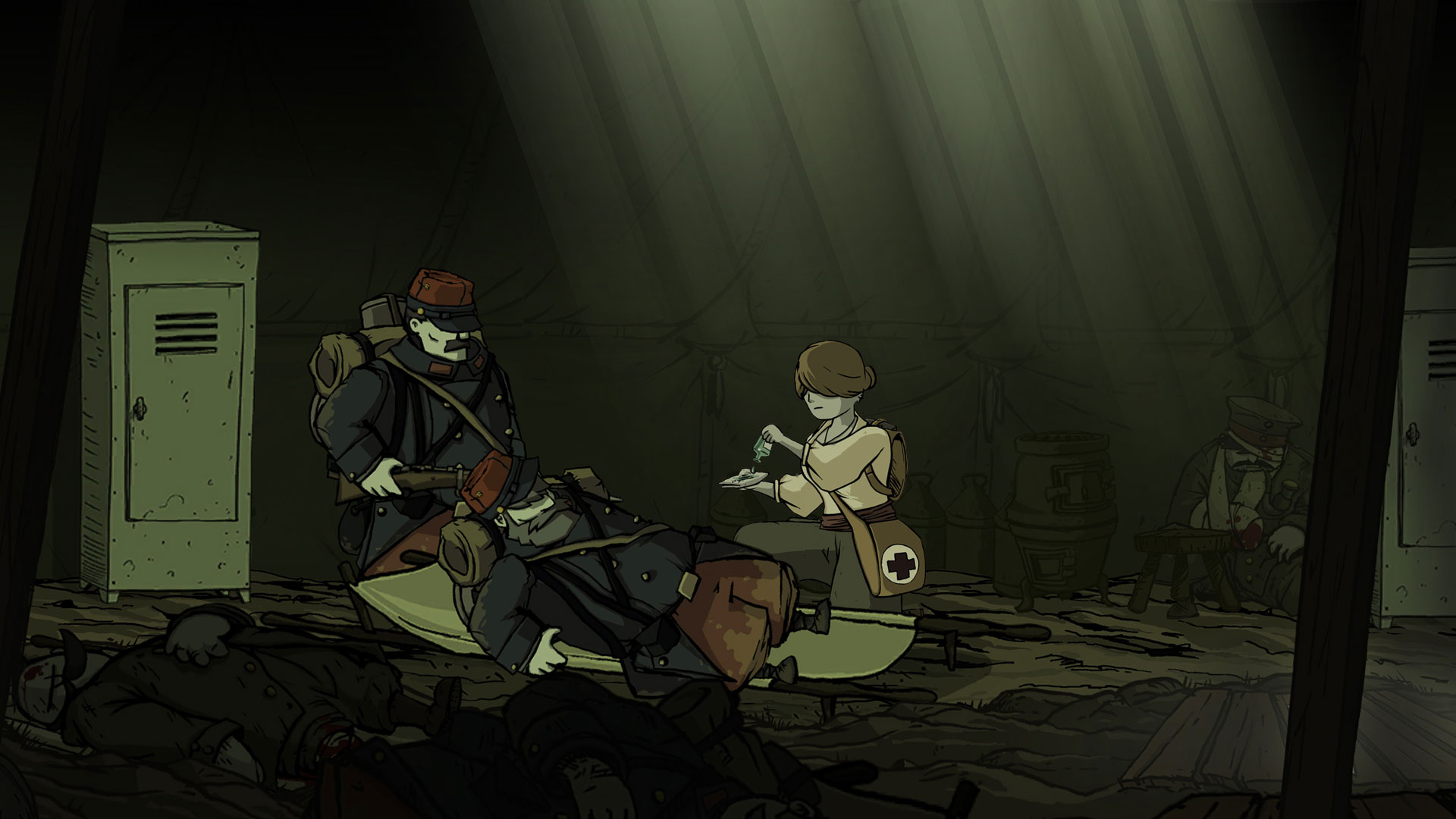 Offizieller Screenshot von Valiant Hearts: The Great War. Quelle: https://www.ubisoft.com/de-de/game/valiant-hearts/