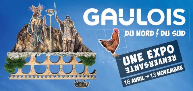 Actualités : exposition «Gaulois du Nord, Gaulois du Sud, une expo renversante»