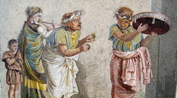 Émission de radio Concordance des temps «Voyage en Italie : Être musicien dans la Rome antique»