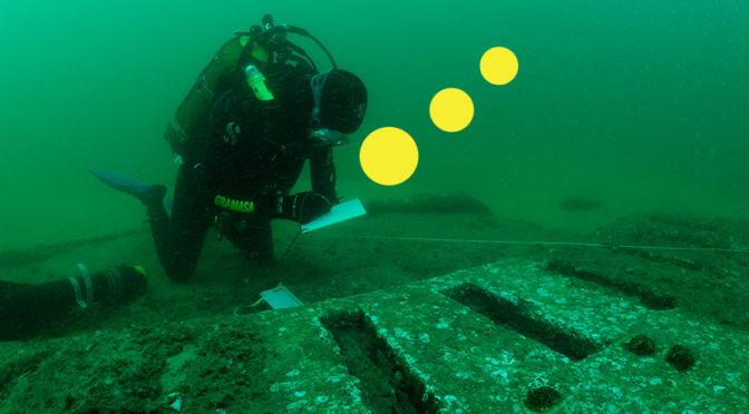 Les futurs archéologues en plongée subaquatique