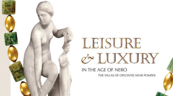 Exposition virtuelle «Leisure and luxury on the age of Nero : The Villas of Oplontis near Pompeii»