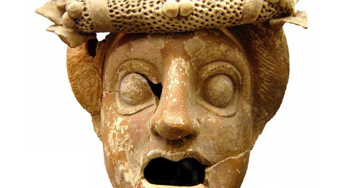 Le masque grec. Pratiques scéniques antiques et contemporaines