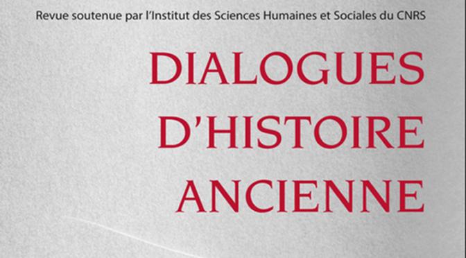 Dialogues d'histoire ancienne. Penser les savoirs sociaux dans l'Antiquité. Pratiques, acteurs, normes