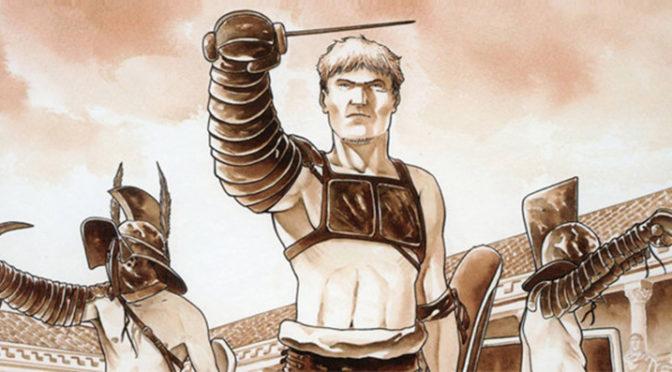 BD et gladiateurs dans la série Arelate