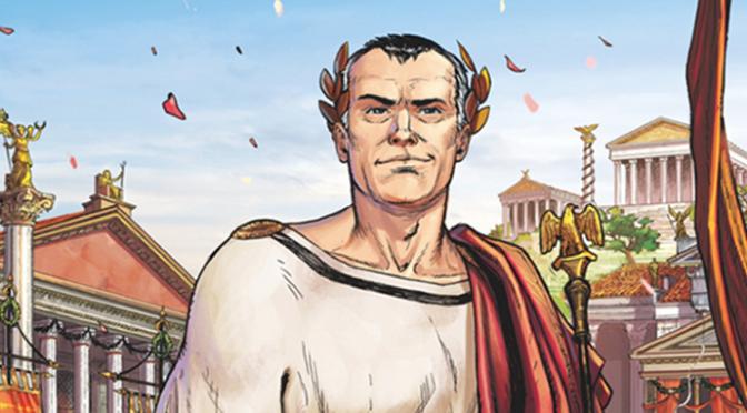 Sur les pas de César