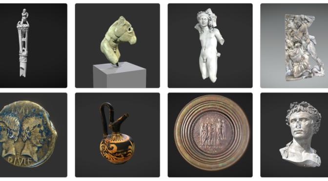 Les modèles 3D du musée Saint-Raymond