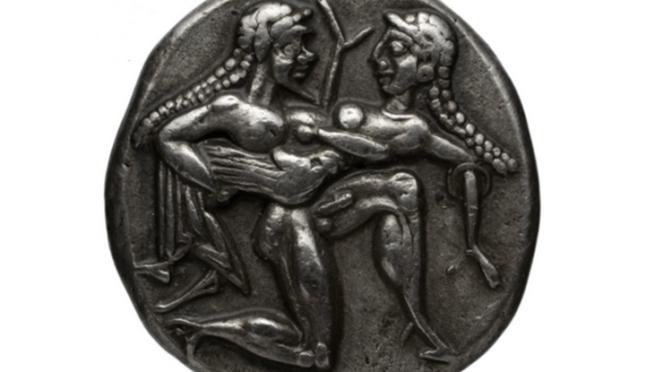 Sensualité et sexualité en numismatique