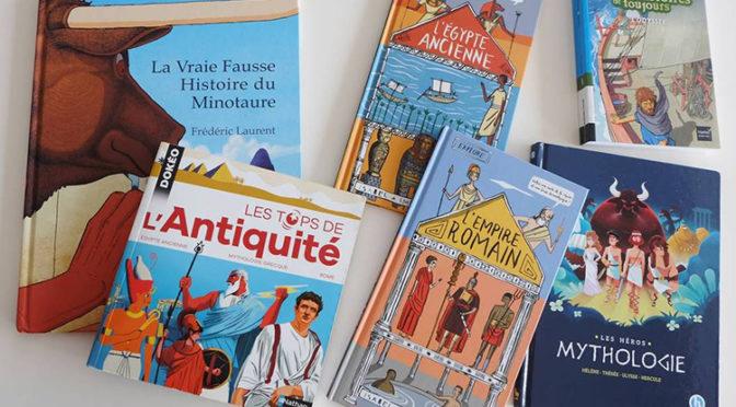 Antiquité et livres de jeunesse