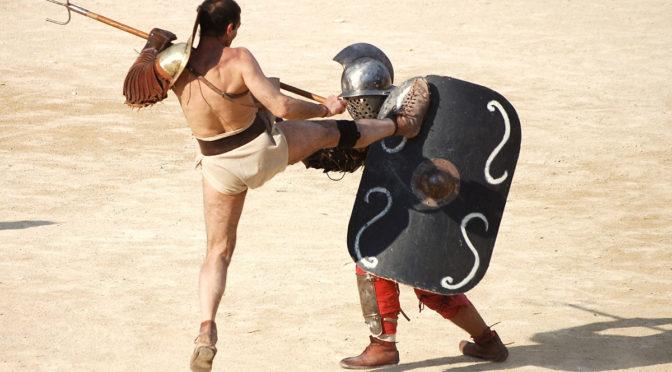 Semaine spéciale gladiateur !