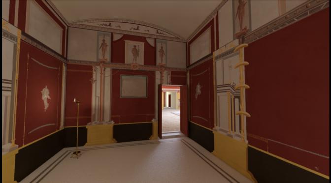3D Digitization of Casa di Nettuno ed Anfitrite, Herculaneum