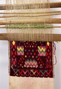 Loom for Huipil's garments, Guatemala, 20th century, Paris, Musée du quai Branly-Jacques Chirac, inv. 70.2011.21.403.1-6