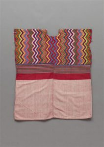 Huipil (Nahuatl) from Guatemala, Paris, musée du quai Branly-Jacques Chirac, inv. 71.1997.24.112