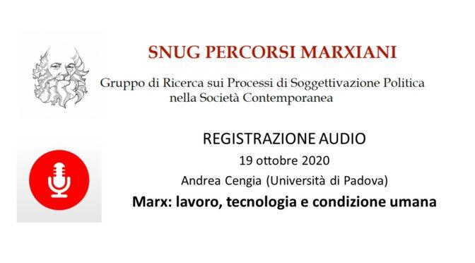 Registrazione Relazione Andrea Cengia