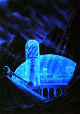 Ville sur Vénus (A. Sokolov)