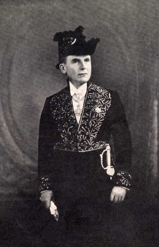 Camichel en Académicien en 1936
