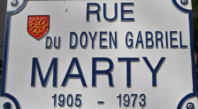 La figure de Gabriel Marty