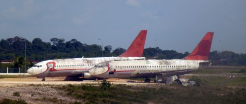Avions abandonnés Manaus 1