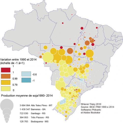 Soja 1990-2014 micro -1+1 fr