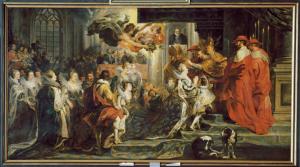 Le couronnement de Marie de Médicis à Saint-Denis, le 13 mai 1610 ©RMN-GP/Christian Jean/Hervé Lewandowski