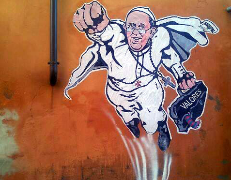 From Pope to pop