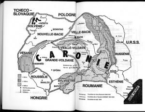 Renaud Camus Carte de la Caronie