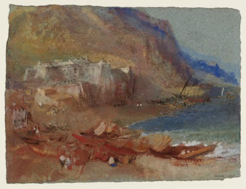 The Priamar Fortress at Savona c.1828-37 Joseph Mallord William Turner 1775-1851 Accepted by the nation as part of the Turner Bequest 1856 http://www.tate.org.uk/art/work/D24705