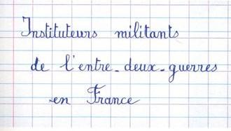 Pour une école laïque du peuple !. Instituteurs militants de l'entre-deux-guerres en France - Jacques Girault