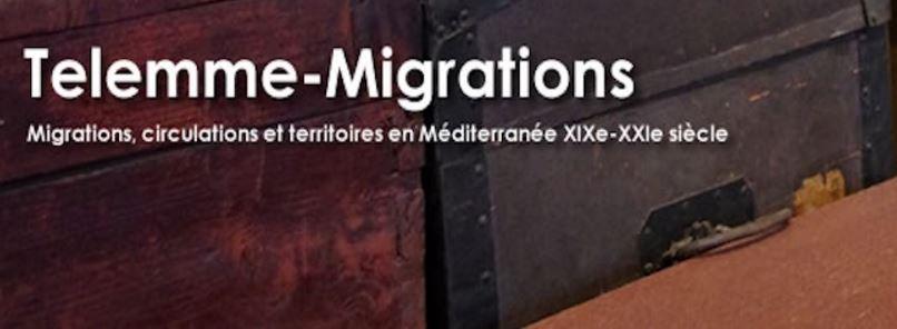 Bagages et objets en migration. Telemme (CNRS / AMU) 23 janvier 2017