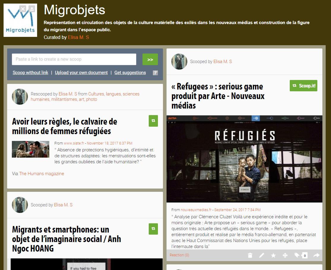 Scoopit Migrobjets
