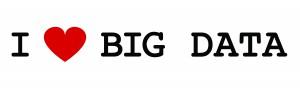 I love big data