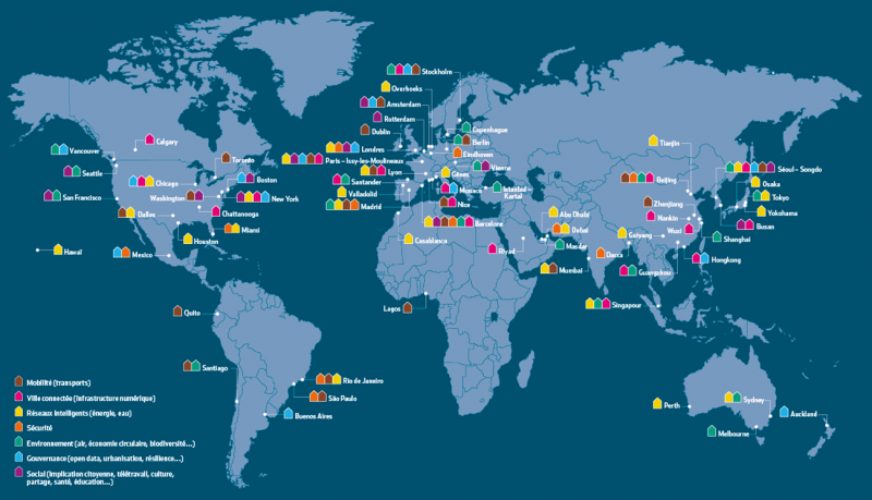 « 67 villes qui osent l'intelligence », Usine digitale, août 2014