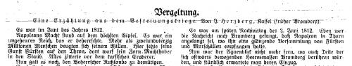 Herzberg-Vergeltung