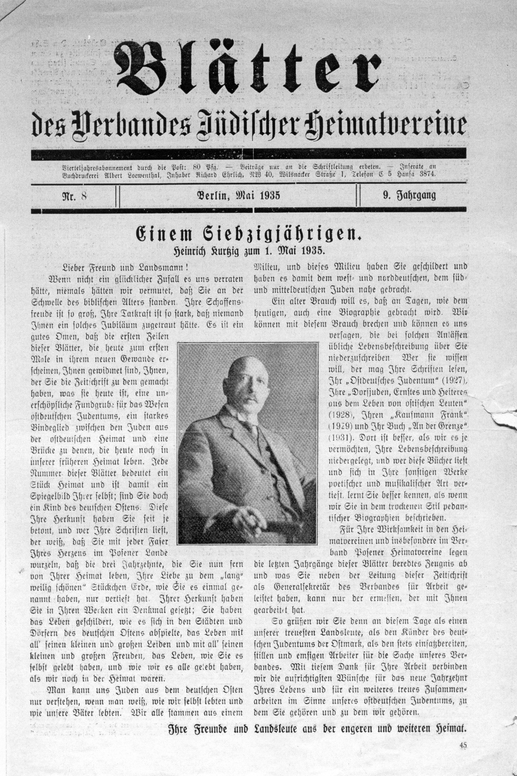 Kurtzig_70.Geburtstag-PHB-Mai-1935