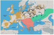 Gab es 3000 Jahre vor Christus eine Migration aus dem Osten nach Mitteleuropa? Kartengrundlage: Atlas der Vorgeschichte, 2009