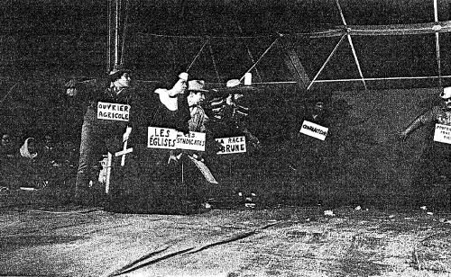 Figure 7. El Teatro Campesino. Archives de Meurthe-et-Moselle, cote du document : 68J9.