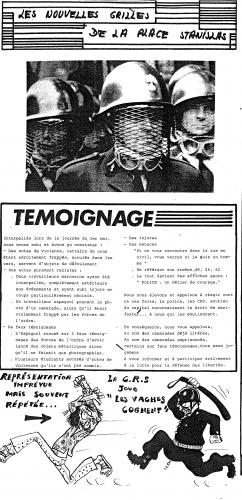 Figure 8. Un Journal du Festival, 1973. Archives de Meurthe-et-Moselle, cote du document : 68J9