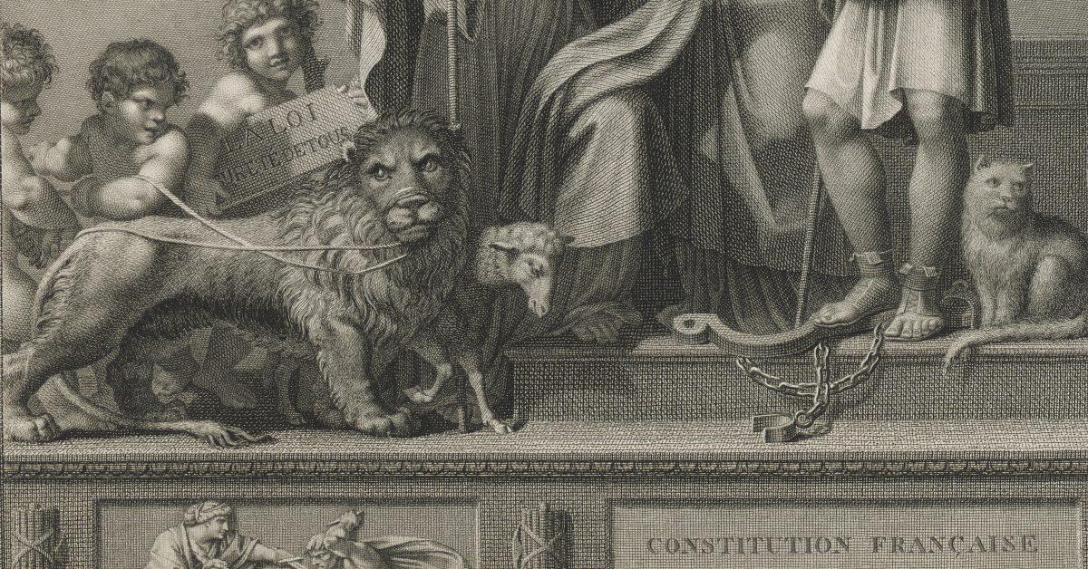 Un lion dans la Révolution